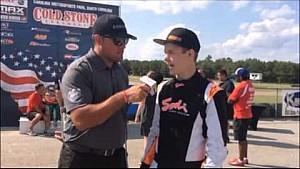 2015 Cold Stone United States Rotax MAX Challenge Grand Nationals - Nathan Adds Interview