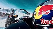 F1 vs. Skier - Red Bull Racing Show Run 2016