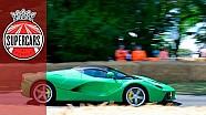 سيارة لافيراري الخضراء الخاصة بجاميروكاي فرونتمان