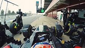 Boxenstopp mit dem McLaren MP4-31