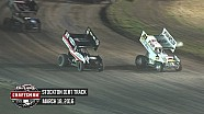 Highlights: World of Outlaws Craftsman Sprint Cars Stockton Dirt Track March 18th, 2016