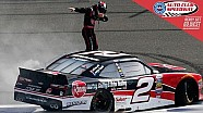 Dillon snatches win as lead gets changed 3 times on final lap