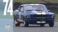 Cobras, E-types, Mustangs, Aston Martins take to the track | Graham Hill Trophy Highlights