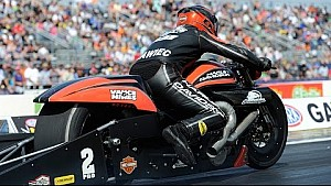 Eddie Krawiec powers to the win in Pro Stock Motorcycle in Gainesville