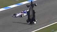 Hockenheim accident 2005 F3 Euro