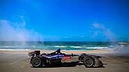 El Equipo DS Virgin en la playa de Long Beach