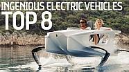 Le 8 vetture elettriche più ingegnose