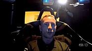 WEC 2016 - Silverstone - Giro al simulatore con Danny Watts