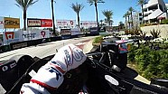 Visor Cam: Graham Rahal At The Toyota Grand Prix of Long Beach