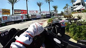 Visor Cam: Graham Rahal en el Toyota Grand Prix de Long Beach
