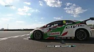 WTCC MAC3 -  Citroen and Honda split the points in Slovakia