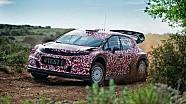Citroen Racing завершила первые тесты автомобиля WRC 2017 года