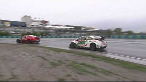 Le clash Muller/Huff sur le Hungaroring