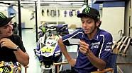 Valentino Rossi beantwortet Fanfragen