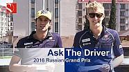 Ask The Driver - 2016 Russian Grand Prix - Sauber F1 Team