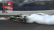Ken Gushi and Forrest Wang Kick Up Some Serious Smoke with Great 8 Wreck