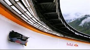 Daniil Kvyat y el equipo Nacional Ruso de Bobsled