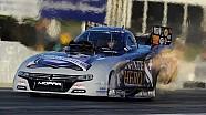 Jack Beckman takes qualifying lead in Atlanta