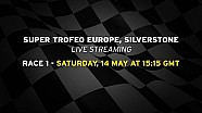 Lamborghini Super Trofeo Europe 2016, Silverstone - Live streaming Race 1