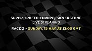 Lamborghini Super Trofeo Europe 2016, Silverstone - Live streaming Race 2