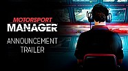 Le trailer de Motorsport Manager