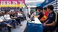 Pre-Race Driver Press Conference - Berlin 2016 - Formula E