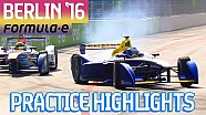 All-Action Berlin 2016 Free Practice Highlights - Formula E