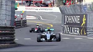 F1 Monaco 2016 Jenson Button hits drain cover