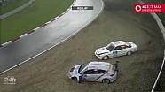 24h Nürburgring: Unfälle durch Hagel