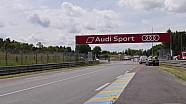 Le Mans - Le nouvel aménagement du virage d'Arnage