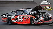 Stewart wrecks at Pocono, collects Danica