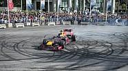 Sainz'in Red Bull ile Beyrut'taki gösterisi