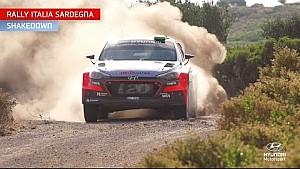 Rally Italia Sardegna Shakedown - Hyundai Motorsport 2016