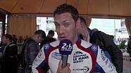24H of Le Mans 2016 - Interview Julien Canal