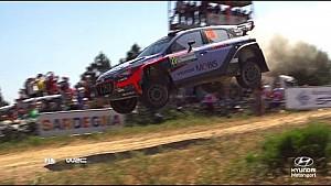 Mejores saltos en Rally Italia Cerdeña Hyundai Motorsport 2016
