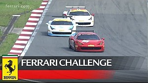 Ferrari Challenge Asia Pacific – Wyatt, Jin and Han win at Shanghai