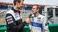 Sebastien Bourdais Interview with Alex Wurz