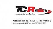 Canlı Yayın: TCR Oschersleben İkinci Antrenmanlar