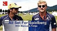 Todo listo para el gran premio austríaco - Sauber F1 Team