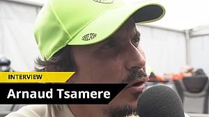 Interview d'Arnaud Tsamere aux 25H VW Fun Cup 2016