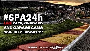 Spa 24 Hours 2016 Teaser - Live Onboard, Live Race, Live Garage #SPA24h