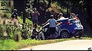 25 Rally Rzeszow - Habaj Crash on SS2