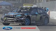 FIA World Rallycross: Andreas Bakkerud Third Straight Podium | Focus RS RX | Ford Performance