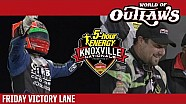 2016 World of Outlaws Craftsman Sprint Car Series Victory Lane | Knoxville Nationals | Night 3
