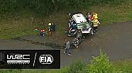 Rallye Deutschland: Highlights, Stages 10-13