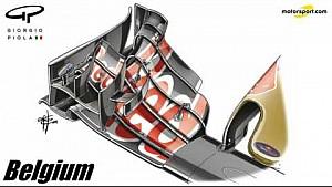 Piola: Frontflügel von Toro Rosso
