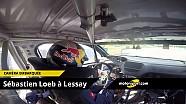 Caméra embarquée - Sébastien Loeb sur le circuit de Lessay