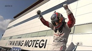The best action from the WTCC main race in Japan