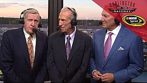 NASCAR legends take over broadcast at Darlington