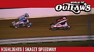 World of Outlaws Craftsman Sprint Cars Skagit Speedway September 2nd, 2016 | HIGHLIGHTS